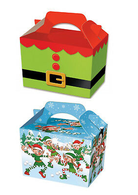 Elf Food Boxes Childrens Party Boxes
