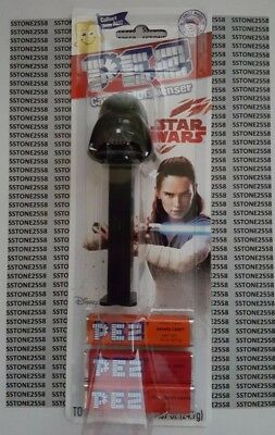 *BRAND NEW* Star Wars The Last Jedi - DARTH VADER - Pez Dispenser & Candy