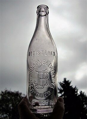 Johnson Brewery ~ New Salem Pennsylvania ~ Pre Pro Beer Bottle ~ York County Pa.