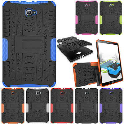 """Rugged Armor Protective Heavy Duty Stand Case Cover For Samsung Tab A 10.1"""" T580"""
