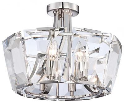 Minka Metropolitan (N6987-613) Eight Light Semi Flush