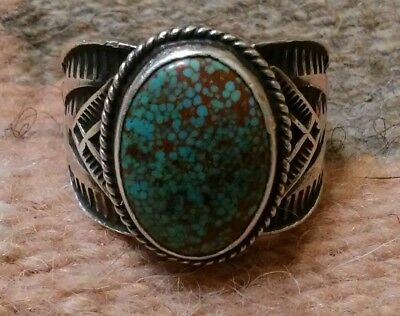 Sunshine Reeves Men's Torquoise Ring..size 12.5