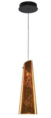 Alico (PC1650-99-45) One Light Bronze Down Mini Pendant
