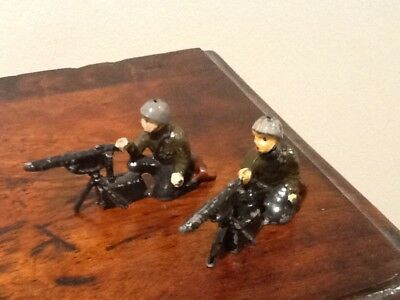 Charbens Lead Machine Gunner Soldiers