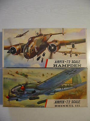 Airfix Heinkel He 111 H 20 Handley Page Hampden 1/72 Lot