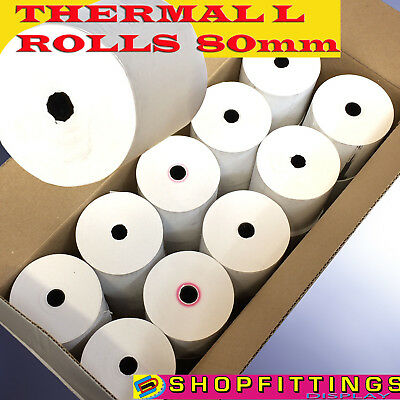 80 x 80mm Thermal Paper Till & EPoS Receipt Printer Rolls 80 x 80mm EPoS Rolls