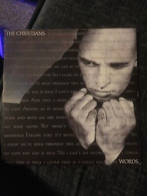 """THE CHRISTIANS  7"""" record"""