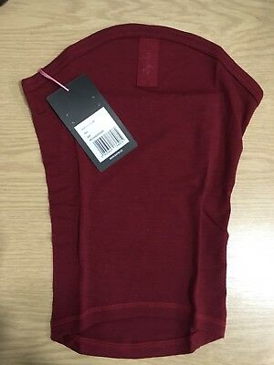 Rapha Merino Winter Collar - Dark Red - One Size - BNWT