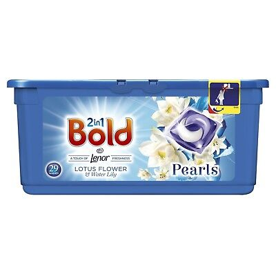Bold 2in1 Washing Tablets Lotus Water Lily 87 Washes (3 x 29 pack)