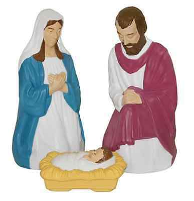 Lighted outdoor nativity set 3 piece 28 scene holy family large lighted outdoor nativity set 3 piece 28 scene holy family large lights new aloadofball Images