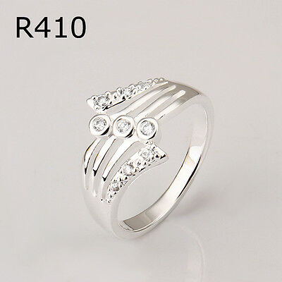 Hot Fashion Gift Jewelry Solid 925Silver Men/Women Ring Gift