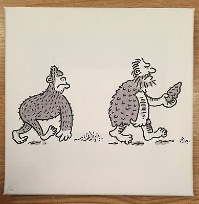 Nick Newman / Private Eye - A Cartoon History & Two Limited Edition Prints  8/99