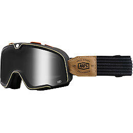 100% Barstow Goggles Size Hudson w/Smoke Lens
