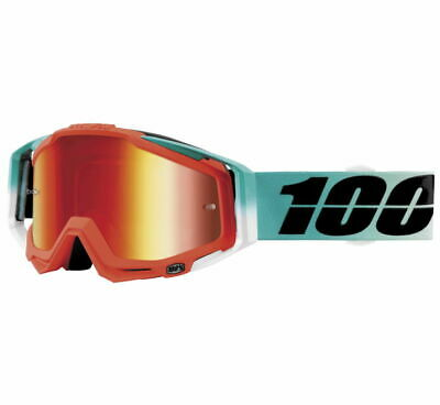 100% Racecraft Goggles Size Cubica w/Red Lens