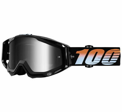 100% Racecraft Goggles Size Starlight w/Silver Lens