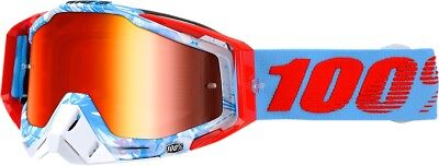 100% Racecraft Goggles Size Bobora w/Red Lens