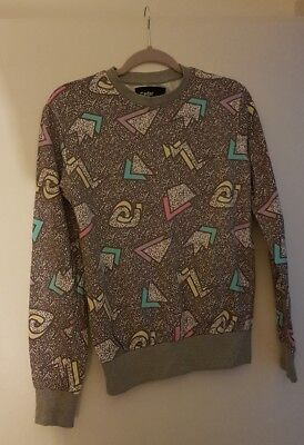 Vintage design sweater jumper 90's XS