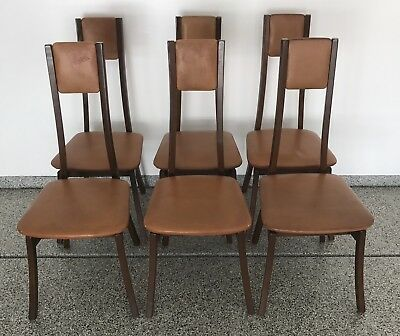 Angelo Mangiarotti Dining Chairs Model S11 1972 Italian Two Sets of Six