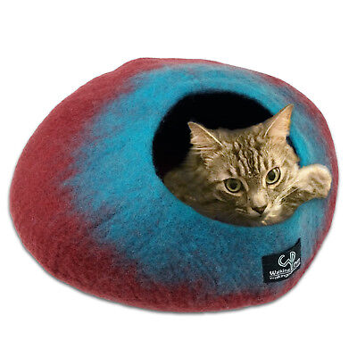 Walking Palm Cat Cave Bed LARGE FREE SHIPPING from USA UFO SPACESHIP