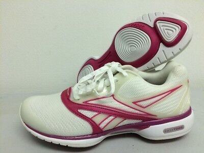 REEBOK EASYTONE WOMEN'S Trainers Leather Toning Shoes White
