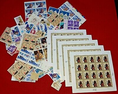 New 100 Assorted Mixed 3 Designs CHRISTMAS, HOLIDAY Forever US PS Postage Stamps