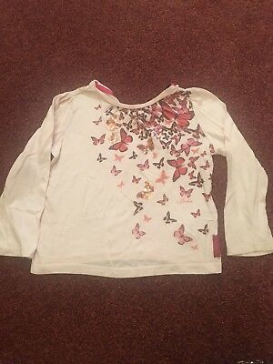 Ted Baker Girls Long Sleeve Top Age 12-18 Months