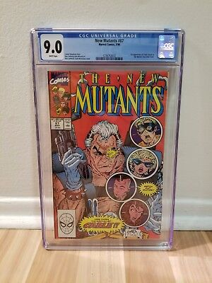 New Mutants #87 CGC 9.0 NM 1st Appearance of Cable!!!