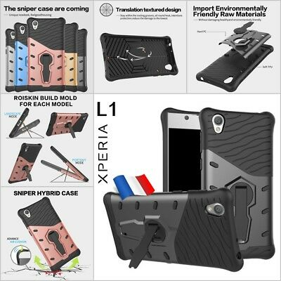 Etui Coque housse Antichocs Shockproof Kickstand Case cover Sony Xperia L1