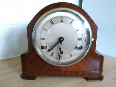 Perivale Mantel Clock with Westminster Chimes