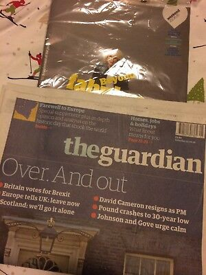 Guardian Newspaper Brexit Edition