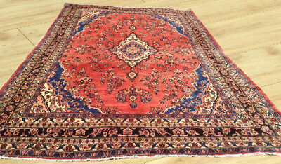 Palace Size Hand Knotted Semi Antique Persian Heriz Area Rug 10 x 16 Ft (PR15)