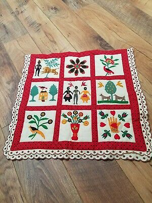 Pleasant Company American Girl Addy Walker Family Album Quilt