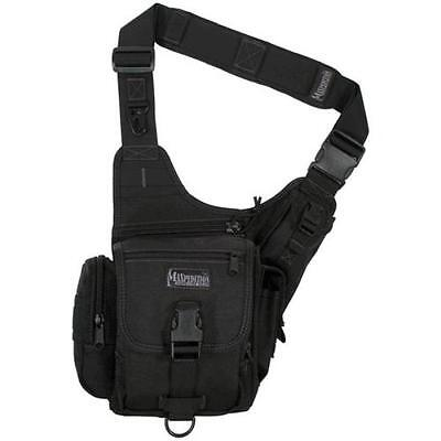 Maxpedition Black Fatboy Versipack - Integral Fixed-Position External Pouches