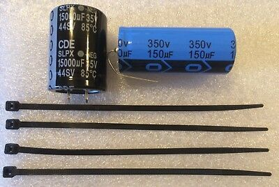 Regulator Capacitors for Bally/Stern Solenoid driver board  - Free US Shipping