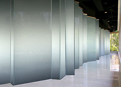 10mm translucent glass privacy screen glass