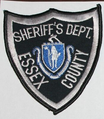ESSEX COUNTY SHERIFF'S DEPT Massachusetts MA Co SD patch