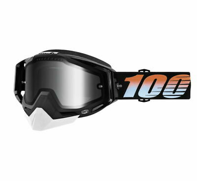 100% Racecraft Snow Goggles Size Starlight w/Silver Lens