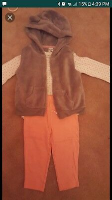Carters 18mo Vest Outfit
