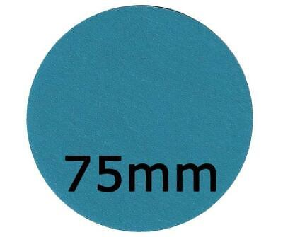 Revcut Blue Sanding 75mm Choose Grit Hook & Loop Disc Box of 100