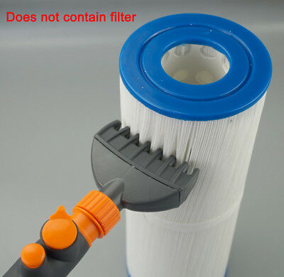 Filter Jet Cleaner Pool Hot Tub Spa Water Wand Cartridge Hand Held