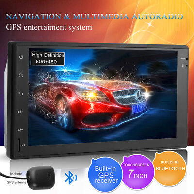 7 inch Double 2 DIN Car Android 6.0 GPS Bluetooth Navi Player Hands-free
