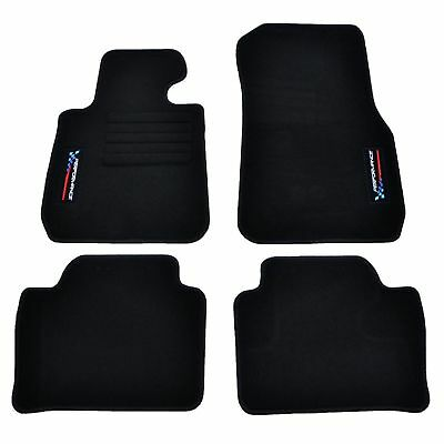 Tapis Sol Bmw Serie 3 F31 Touring 06/2012-Up Specifique Logo Performance Sport M