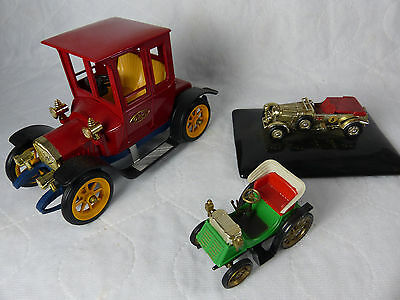 Gama 1500 Opel Stadt Coupe Diecast + kleiner Oldtimer + Matchbox MOY Gift Serie