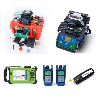 Orientek T45 Fusion Splicer with OTDR Combos SV20A OTDR SM 1310/1550nm OPM OLS