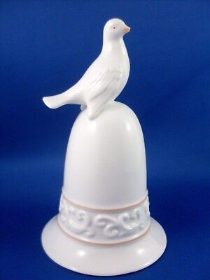 NU Retro 1981 AVON The Tapestry Collection DOVE PORCELAIN BELL Collectable Gift