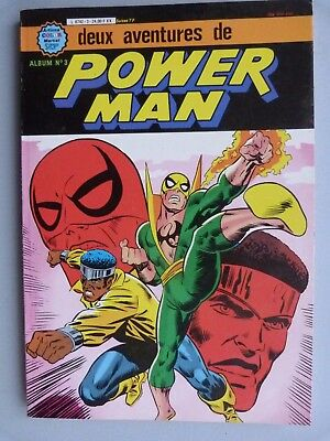 Bd Livre Artima Power Man Album N 3 2 Tomes