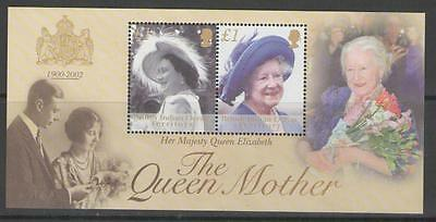 British Indian Ocean Terr Sgms269 2002 Queen Mother Commemoration Mnh