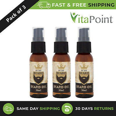 3 X By My Beard Oil 30Ml Bottles