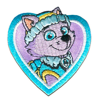 "yellow 7x6cm Application Embroided b PAW PATROL /""RUBBLE/"" Iron on patches"