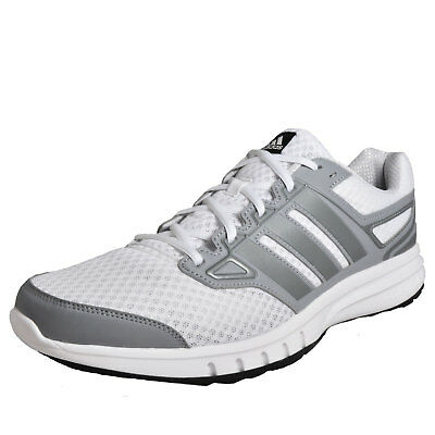 Adidas Galactic Elite Men's Big Size Trainers Running Fitness Shoes White
